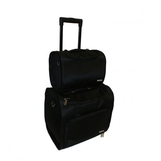 Haito Duo Trolley Bag Salons Direct