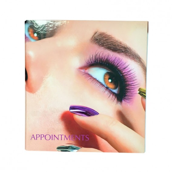 Small 4 Column Appointment Ringbinder Nails