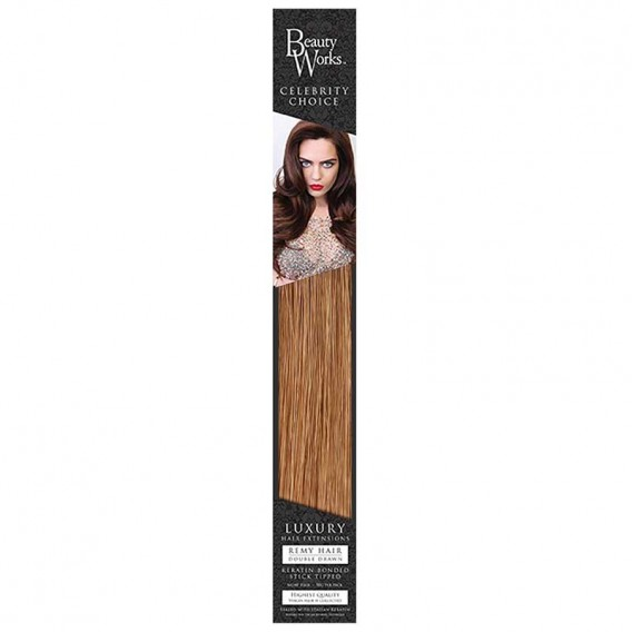 Celebrity Choice Flat Tip Keratin Bonds 18in 50g Human Hair by Beauty Works