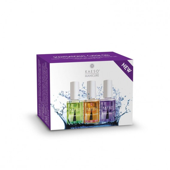 Kaeso Scentsational Cuticle Oil Collection 3pk 14ml