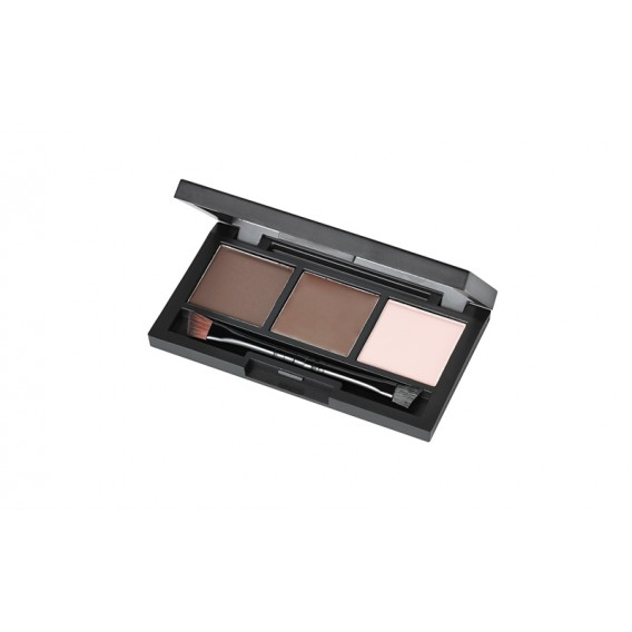 Marvelbrow Brow Trio Dark Brown