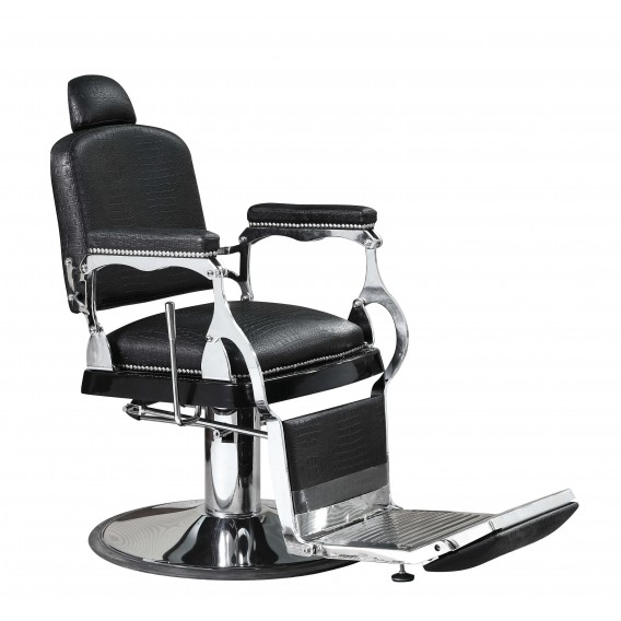 Fantastic Lotus Heston Barber Chair Black Gmtry Best Dining Table And Chair Ideas Images Gmtryco