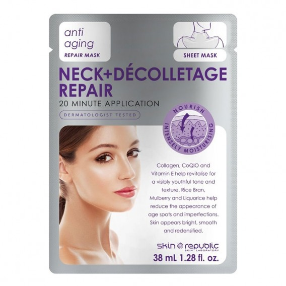 Skin Republic Neck & Decolletage Repair Mask Sheet