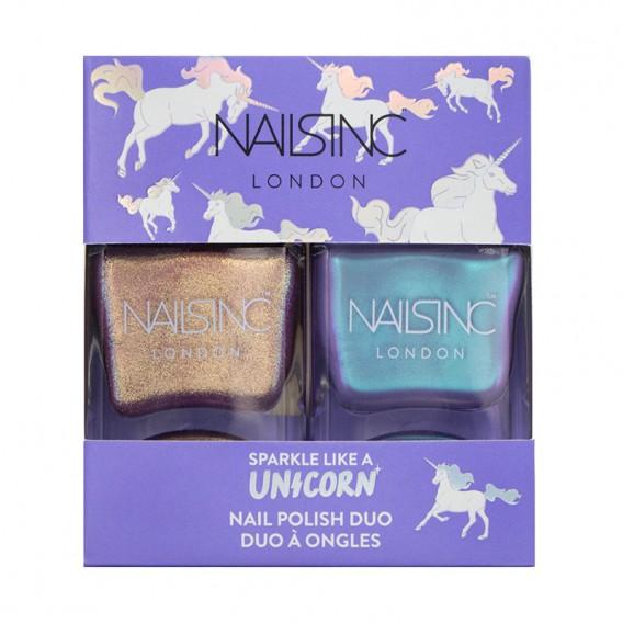 Nails Inc Sparkle Like a Unicorn Duo Kit