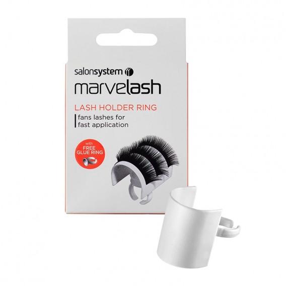 Marvelash Lash Holder + Glue Ring by Salon System