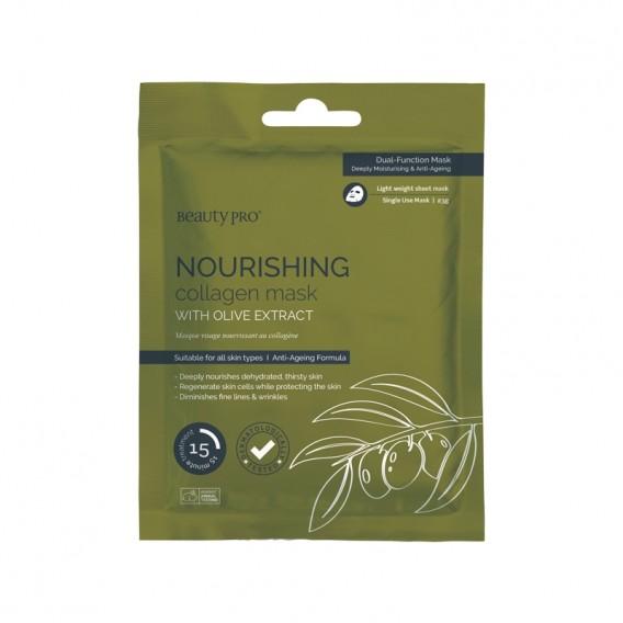 BeautyPro NOURISHING Collagen Sheet Mask 23g