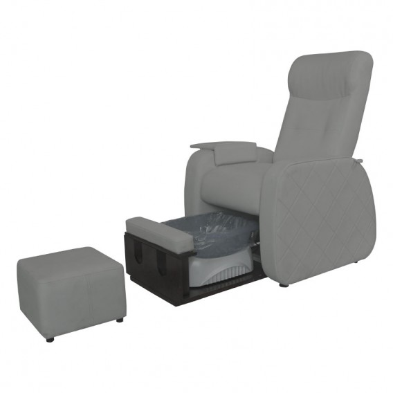 Lotus Merton Pedicure Spa Chair Grey