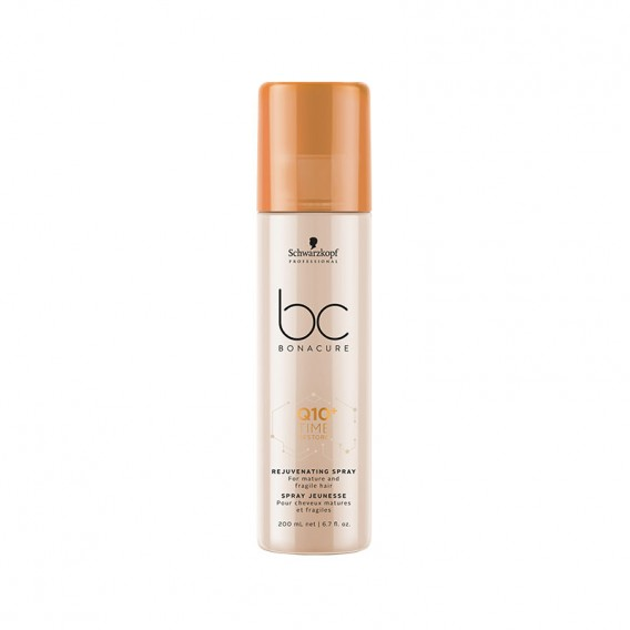 Bonacure Q10+ Time Restore Plumping Spray Conditioner 200ml by Schwarzkopf
