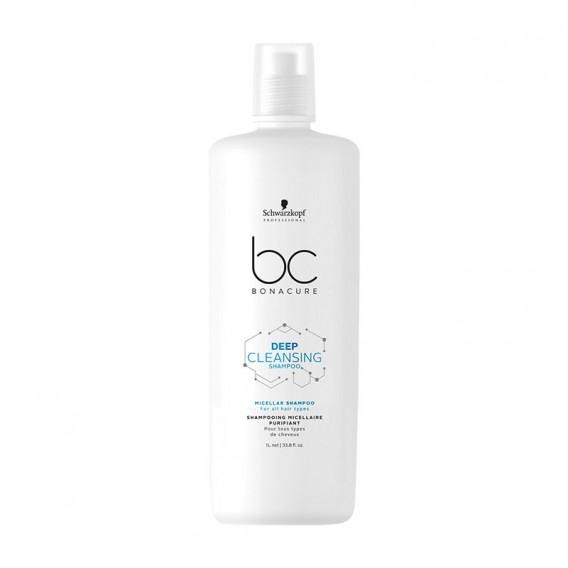 Bonacure Deep Cleansing Shampoo 1 Litre by Schwarzkopf