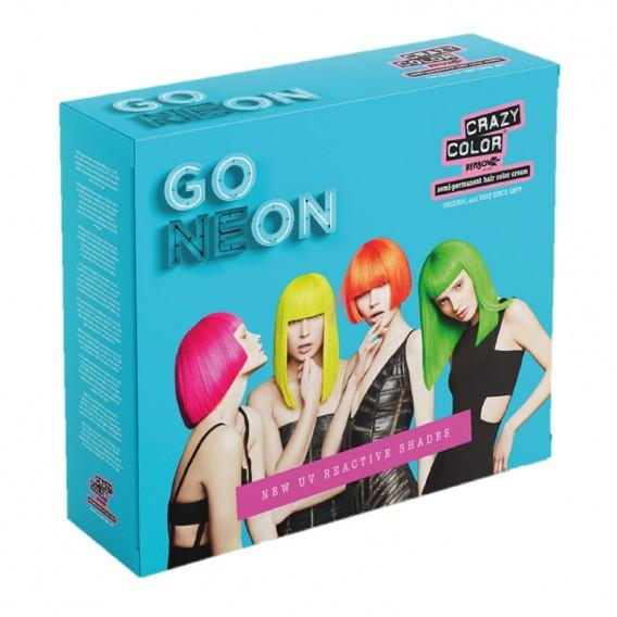 Crazy Color GO NEON Quad Pack 4 x 100ml