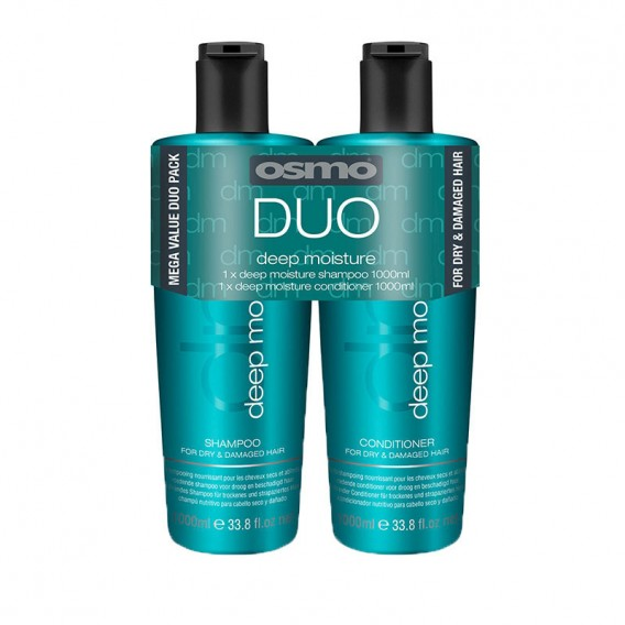 Osmo Deep Moisture Shampoo + Conditioner Duo Pack 2 x 1 Litre