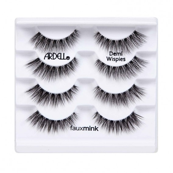 Ardell Multipack Faux Mink Demi Wispies Strip Lashes 4pk
