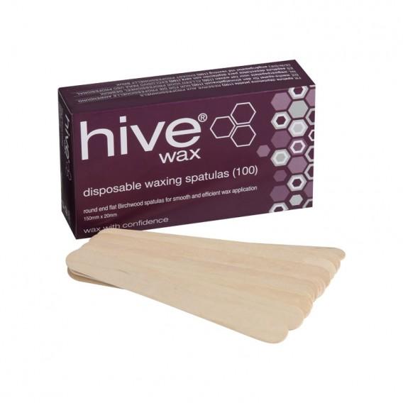 Hive Disposable Leg Spatula x 100