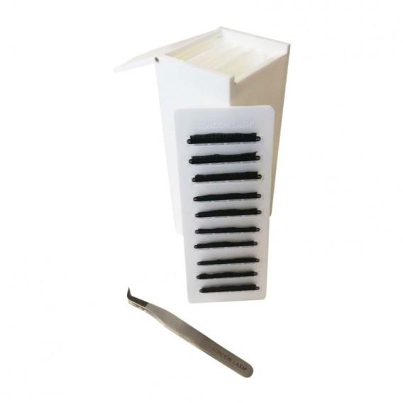 London Lash Small White Palette Box