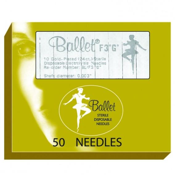 Ballet Gold Plated Needles K