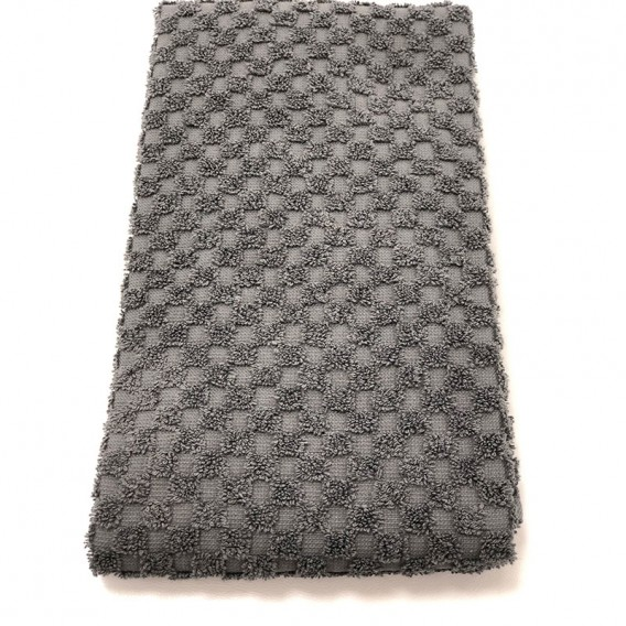 BC Softwear Serenity Waffle Patterned Jumbo Sheet Slate Grey with Head Hole 100x220cm