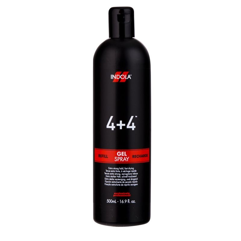 Indola 4 4 Gel Spray 500ml Salons Direct