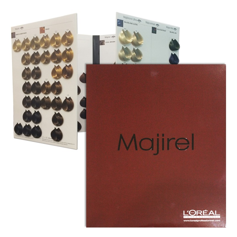 Loral Majirel Colour Shade Chart Salons Direct