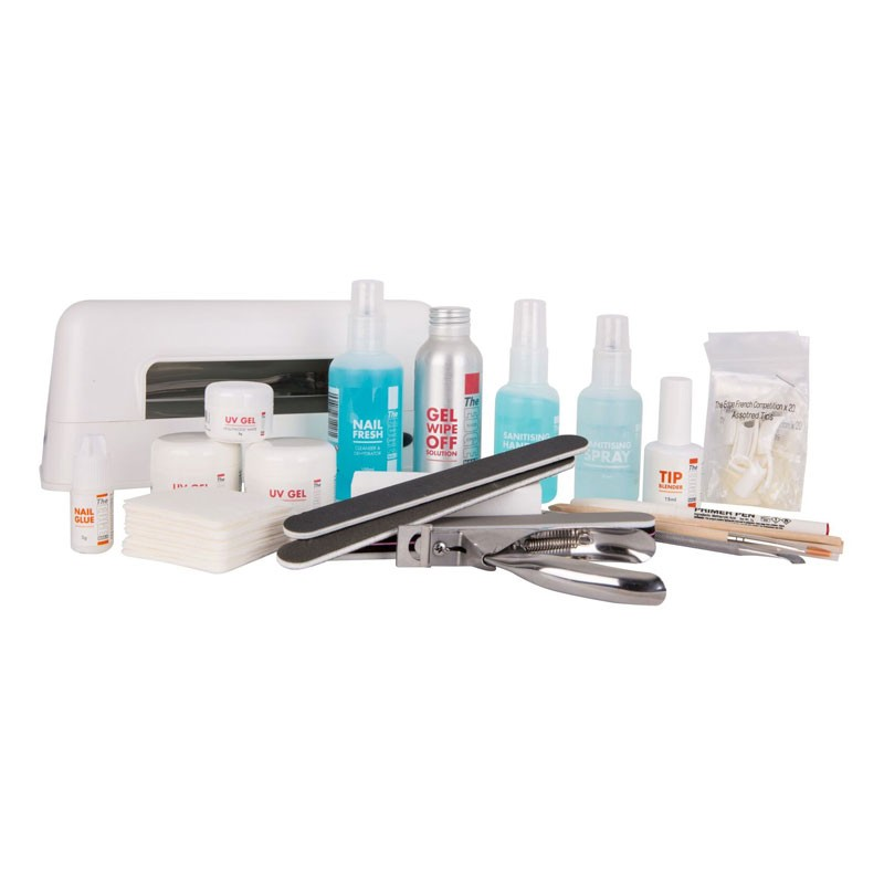 The Edge Uv Gel Nail Kit With Lamp Salons Direct