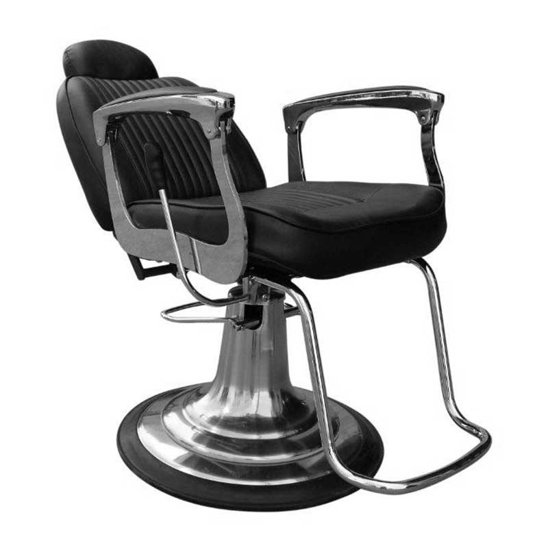 Lotus Mason Barber Chair Black Salons Direct