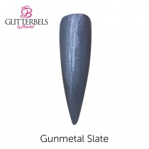 Glitterbels Acrylic Powder 28g Gunmetal Slate
