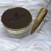 Glitterbels Acrylic Powder 28g Liquid Gold