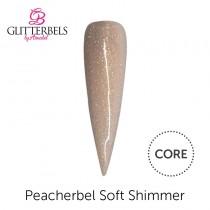 Glitterbels Core Acrylic Powder 56g Peacherbel Cover Shimmer