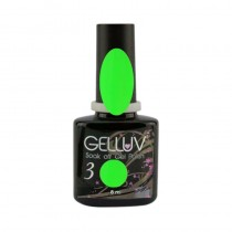 Gelluv Electric Lime 8ml Gel Polish Ibiza Collection