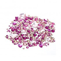 Swarovski Crystals for Nails Hearts Mix x 260