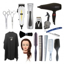Total Barber Starter Kit Right Handed