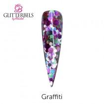 Glitterbels Pre Mixed Glitter Acrylic Powder 28g Graffiti