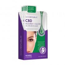 Skin Republic CBD Oil Face Sheet Mask 25ml Pack Of 10