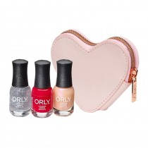 Orly Christmas Gifts Ballet Pink Heart Purse