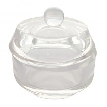 Sibel Glass Dappen Dish With Lid