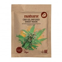 BeautyPro Natura CBD Oil Infused Sheet Mask 22ml