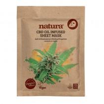BeautyPro Natura CBD Oil Infused Sheet Mask