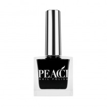 Peacci Nail Polish Jet Black 10ml