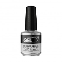 Gellux Mirror Glaze No Wipe Top Coat 15ml Gel Polish