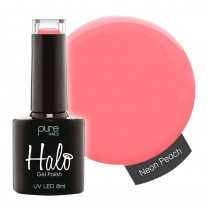 Halo Gel Polish Neon Peach 8ml