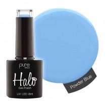 Halo Gel Polish Powder Blue 8ml