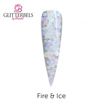 Glitterbels Acrylic Powder 28g Fire & Ice