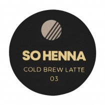 So Henna Cold Brew Latte 03