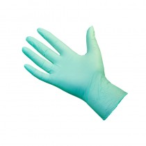 Pro Eco Green Nitrile Glove Biodegradable Small x 50 Pairs