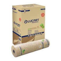 23in Lucart Eco Natural Couch Roll Case of 6