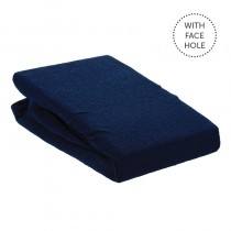 Aztec Classic Couch Cover with Face Hole Navy Blue