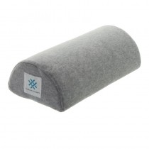 Memory Foam Half Moon Nail Pillow Grey