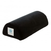 Memory Foam Half Moon Nail Pillow Black