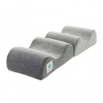 Memory Foam Knee and Ankle Pillow Grey