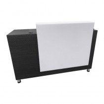 Lotus Lincoln Reception Desk Black