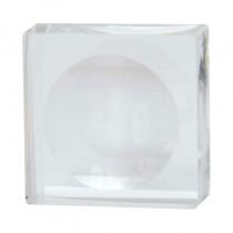 Flawless Lashes by Loreta Round Crystal Glue Plate